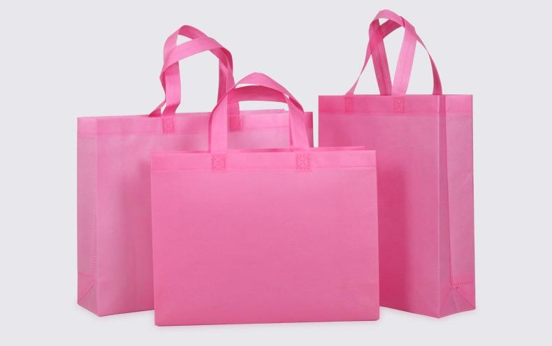 Sacos de Compras personalizado reciclado sacolas reutilizáveis