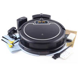 Image 2 - (Free Shipping to All, Fast Delivery) Robot Vacuum Cleaner with Water Tank,Wet&Dry,TouchScreen,Big Mop,Schedule,Virtual Blocker