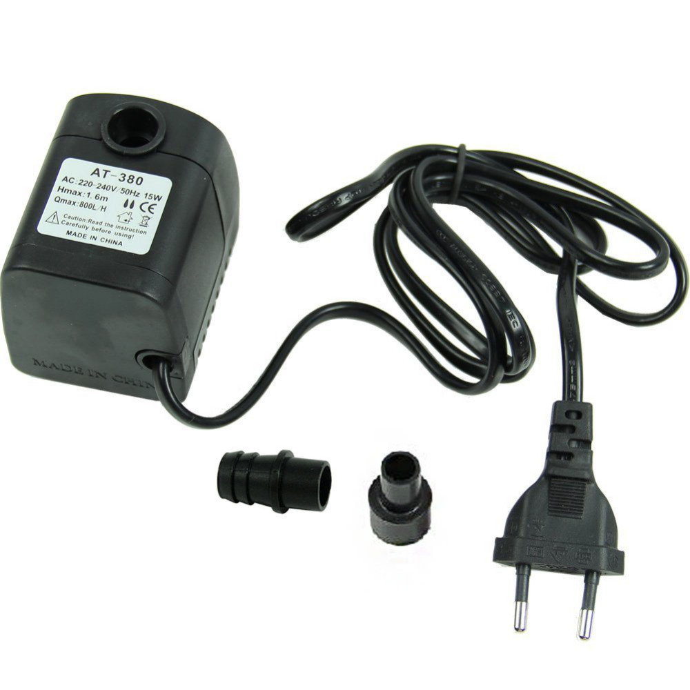 E74 220 V 15 Watt 800L/H Tauch Brunnen Air Aquarium Aquarium Wasserpumpe Eu-stecker