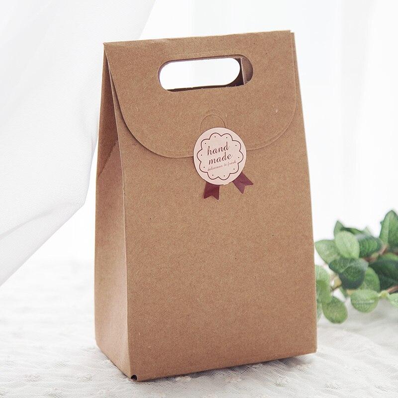 20pcs Free Shipping Diy Kraft Paper Carton Packaging Box Gift