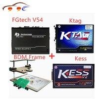 Kess V2 Fw4.036 V2.32 Chip Tuning Kit+k tag 2.13 Fw6.070 Ktag Ecu Programmer+fgtech Galletto 4 Master V54+bdm Frame Adapter