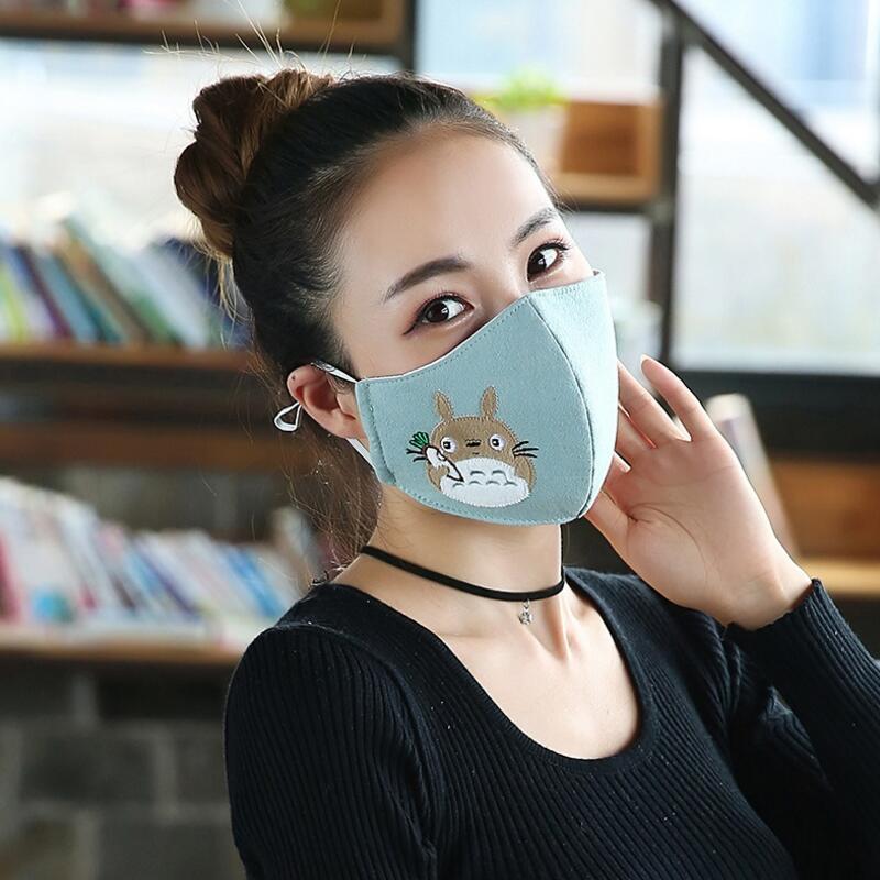 Men women mouth mask Bacteria proof cotton mask PM2.5