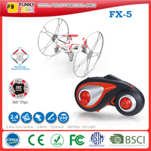 High quality FinecoFX-5 3D 4CH Sky Walker RC UFO 2.4G Quadcopter Aerocraft with Four-axis Gyroscope RTF for Children Toy vs 9056