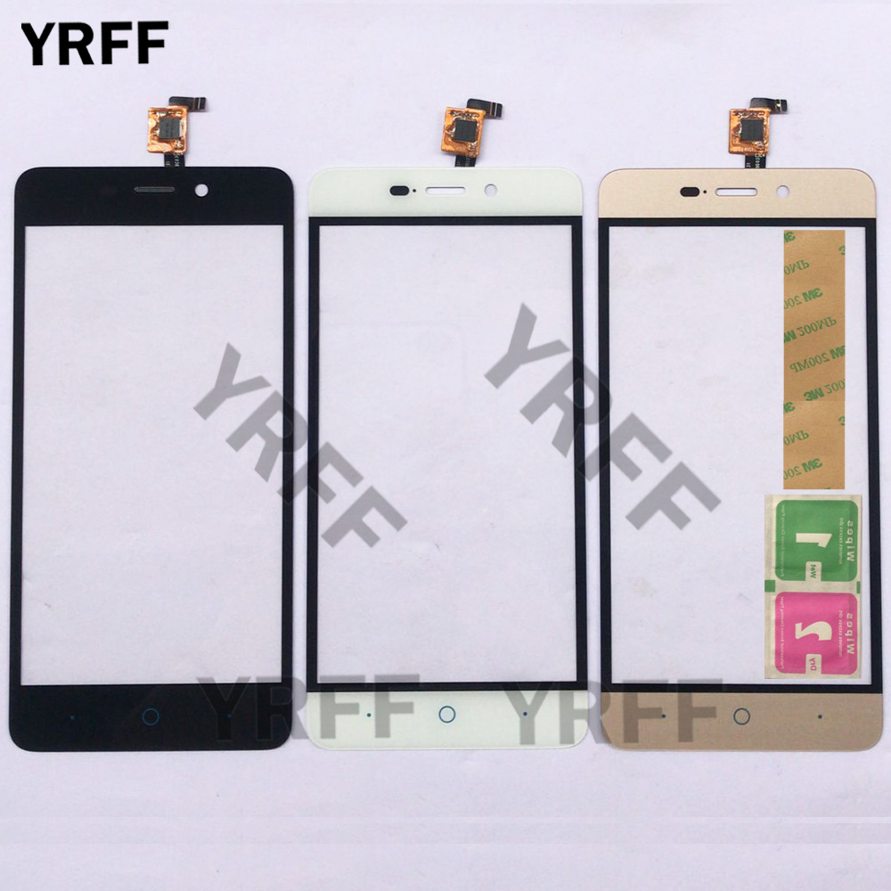 Phone Touch Screen For ZTE Blade A452 X3 D2 Touch Screen Front Glass Touch Panel Sensor Lens Digitizer PanelParts 3M Glue Wipes