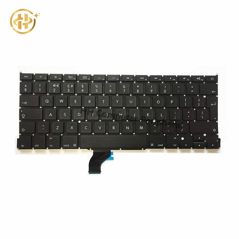 Original New A1502 UK Laptop Keyboard For font b Apple b font font b Macbook b