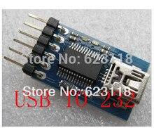 Бесплатная Доставка 5 шт./лот FT232RL USB Для Последовательной Линии Скачать Линия Downloader USB TO 232