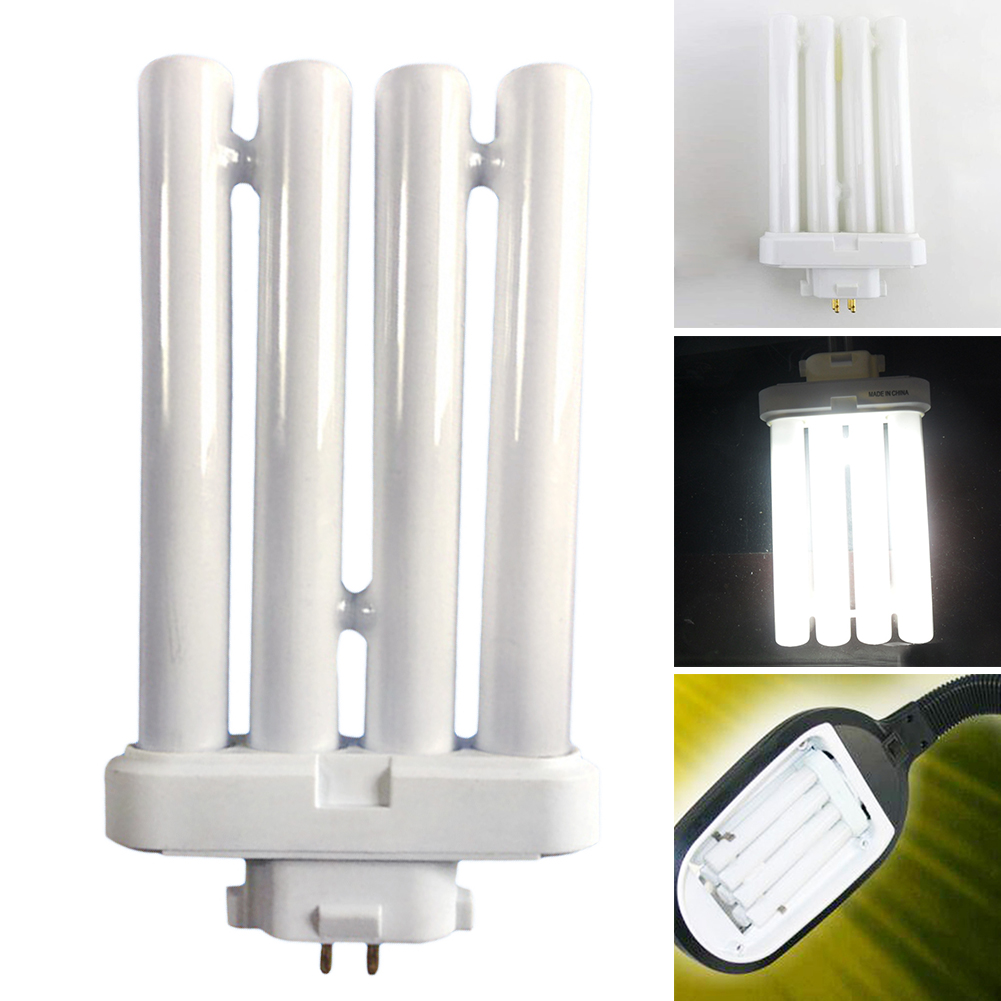 27W Desk Daylight U-shape 4-pin Replacement Table Lamp Office Super Bright LED Bulb 4-row Eye Protection