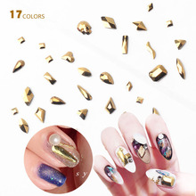 10pc Crystal AB 3D Nail Art Rhinestones Gems Flatback Stones DIY Decorations Manicure Diamond Jewelry Different Shapes For Nails