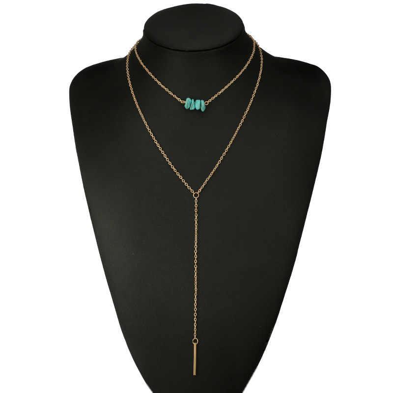 Nowa moda biżuteria proste V projekt momenty choker naszyjnik dla kobiet dziewczyna