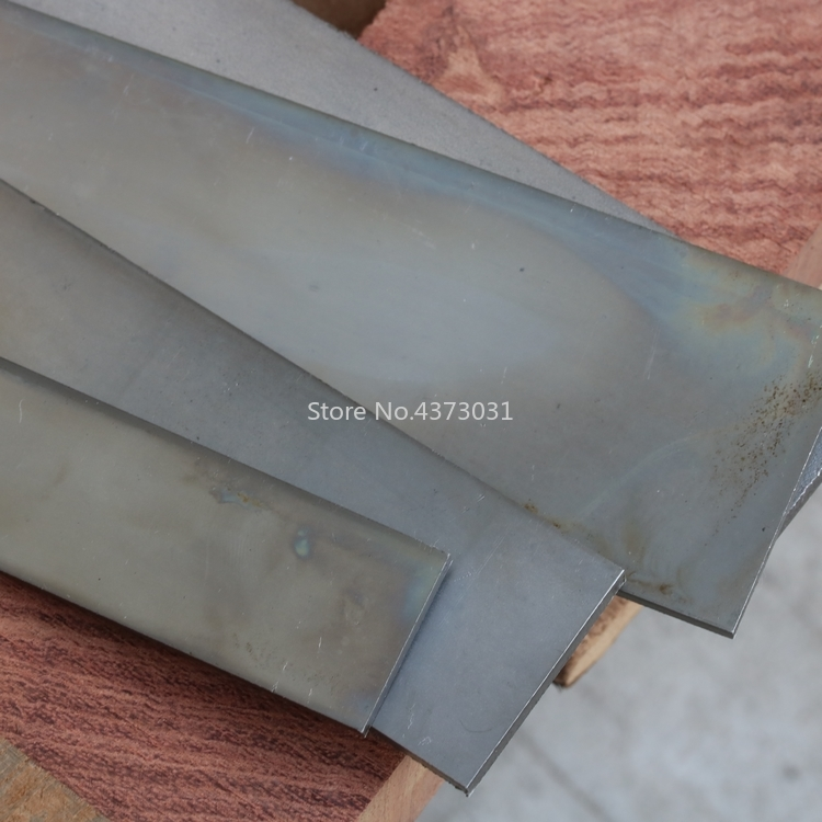 Multi Size DIY Knife Blade Steel Plate Heat Treatment Low Carbon Bouncy Surface Polishing Sweden 1428 Steel