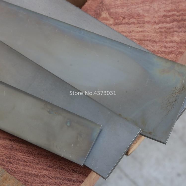 Multi Size DIY Knife Blade Steel Plate Heat Treatment Low Carbon Bouncy Surface Polishing Sweden 1428 Steel