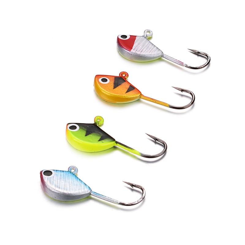 Vissen Ice Fishing Lure 26 Stück Ice Jig Hooks für Zander Winter - Angeln - Foto 3