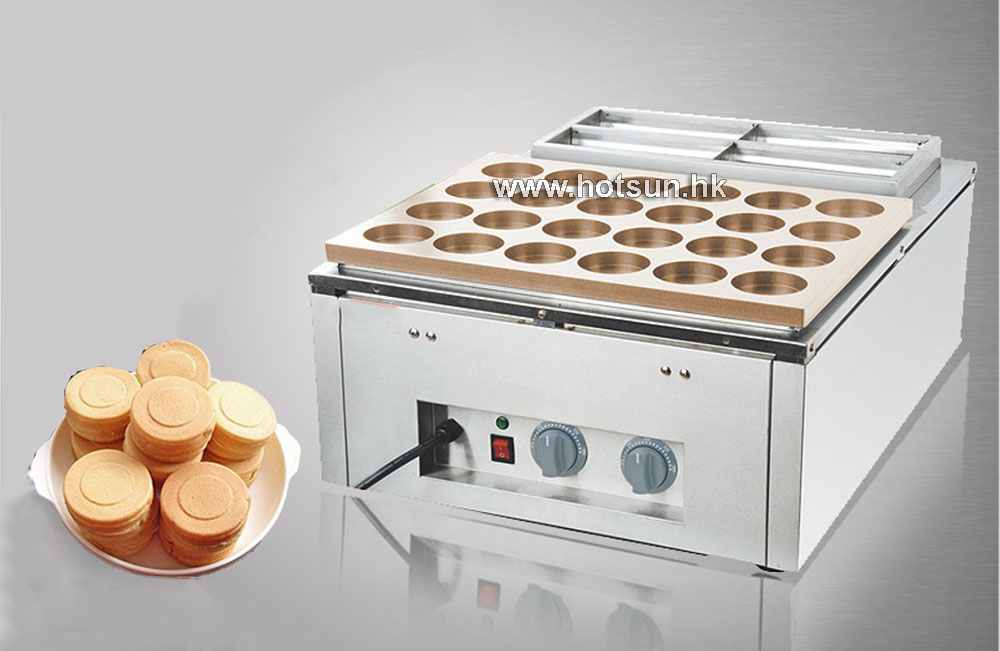 Free Shipping Commercial Non-stick 220V Electric 24pcs Copper Obanyaki Maker Red Bean Waffle Maker Iron Machine free shipping 32pcs 6 8x2 3cm 220v electric obanyaki dorayaki red bean waffle baker maker