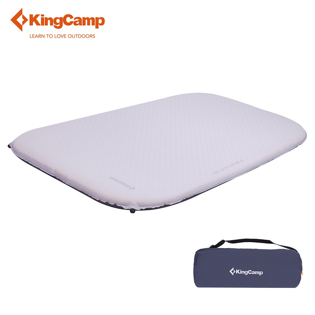 camping built pillow in inflatable with fabric dp intex mattress