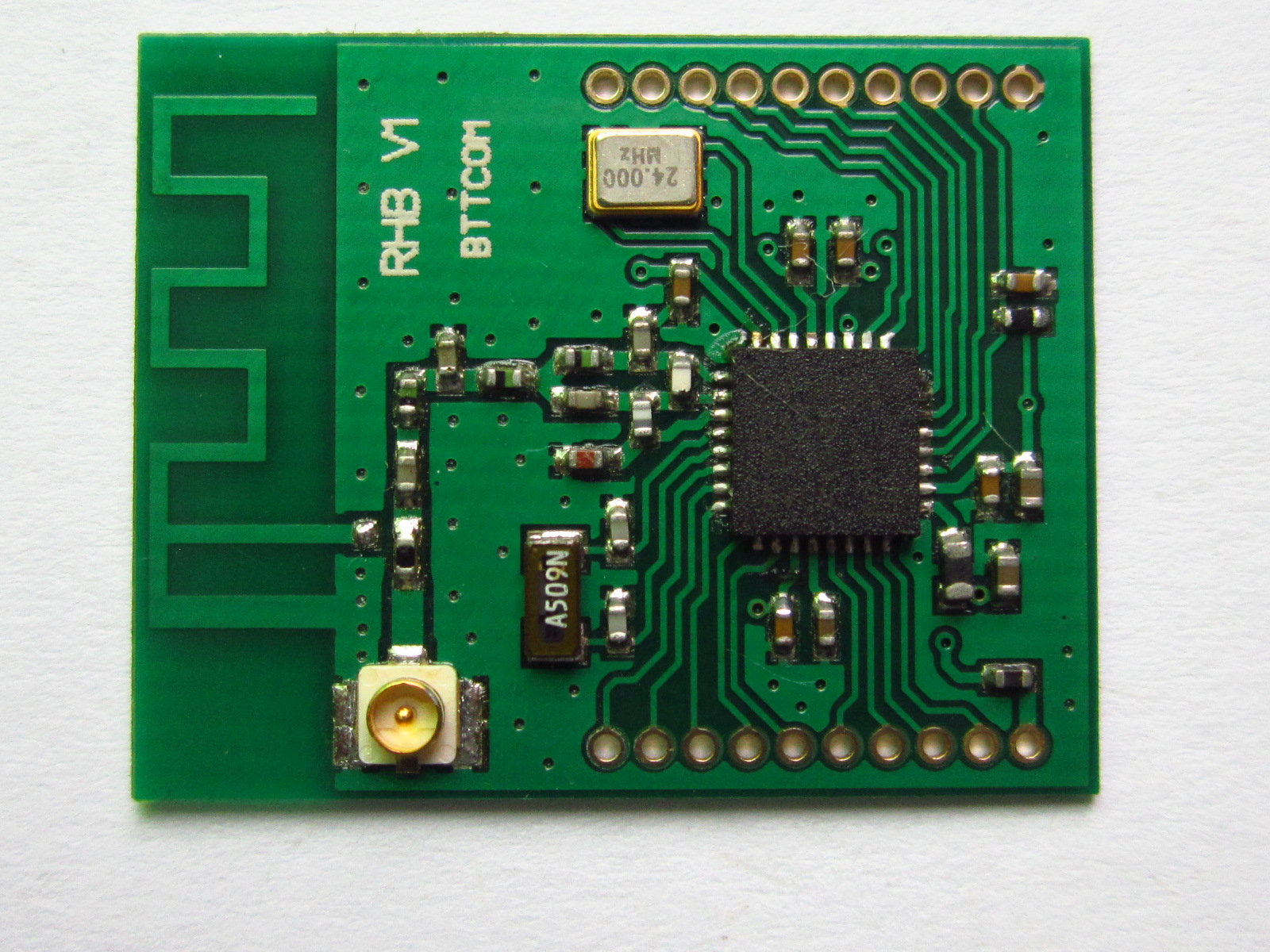 SZ9RH CC2630 RHB Zigbee Wireless Module rs232 switch to zigbee wireless module 1 6 km transmission cc2630 chip far beyond cc2530