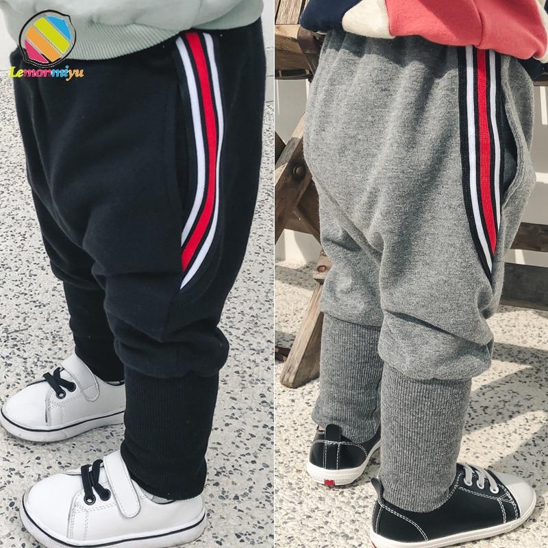 Lemonmiyu Trousers Baby Pants Harem Long-Pockets Newborn Cotton Boy Big Spring Patchwork