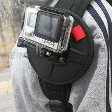 Ímã magnético backpack strap harness belt monte para gopro 5 4 3 + action camera kite boarding pára-quedismo paraglidering delta