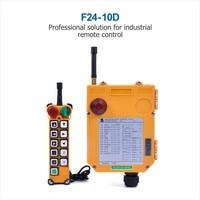 Industrial TELEcrane Remote Control Hoist Crane F24 10 Controller 1 Transmitter 1 Receiver 36V 220V