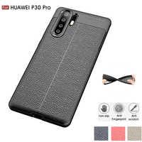 Carbon Fiber Fall Für Huawei P30 Pro/Huawei P30 Lite Fall Soft Cover Für P30 P20 Lite Pro Telefon coque Funda Etui Zubehör