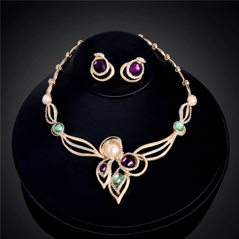 Romantic and Colorful Jewelry Sets