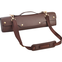 Flute Portable Soft Bag Backpack Genuine Leather Instrument Case For 16 Holes 17 Holes