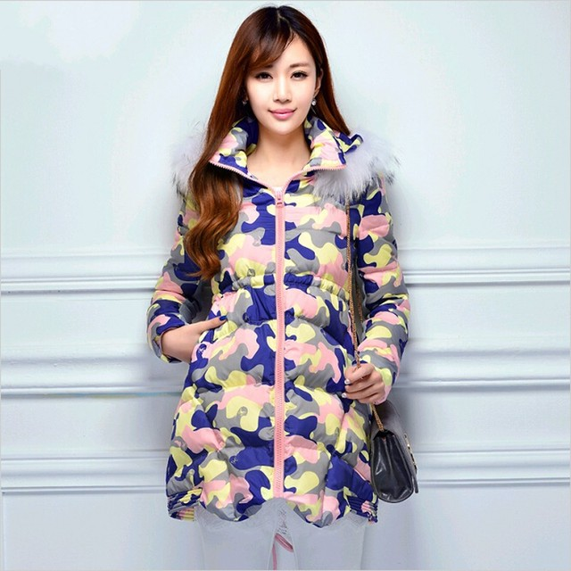 Posparto Prenatal todos pueden usar Súper calidad de maternidad mujeres embarazadas abrigos rompevientos chaqueta de abrigo de Maternidad Abajo chaqueta