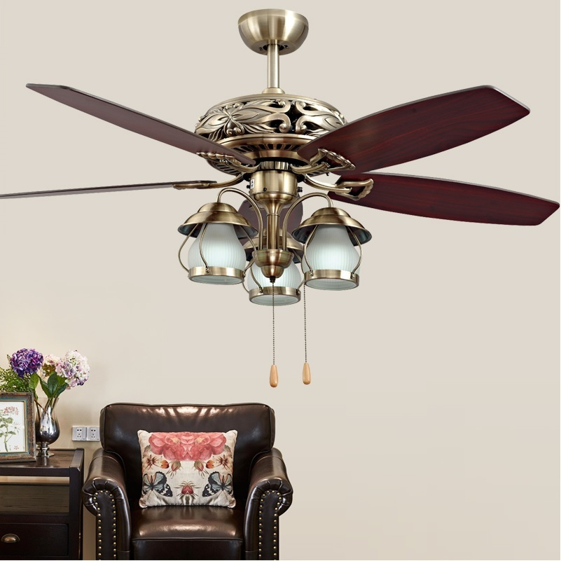 Design Ceiling Fan With Lantern Lights