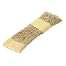Сверла для ногтей щетка для чистки медной проволоки щетки для электрического маникюра