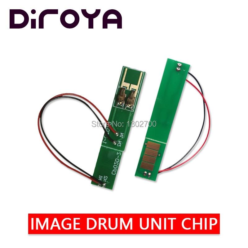 2PCS 43979002 drum unit chip For OKI data B410 B430 B430DN B440 MB460 MB470 MB480 MB 470 480 460 OPC imaging cartridge reset 25K|Cartridge Chip| |  - title=