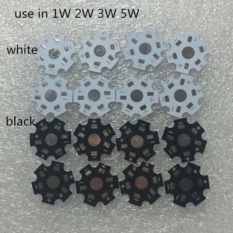 free shipp 1000pcs 500pcs 100pcs 50pcs 20pcs /lot LED 1W 3W 5W High Power LED Heat Sink Aluminum 20MM Base Plate color white free shipping 2sd965 d965 5a 20v 1w transistor to 92 1000pcs lot
