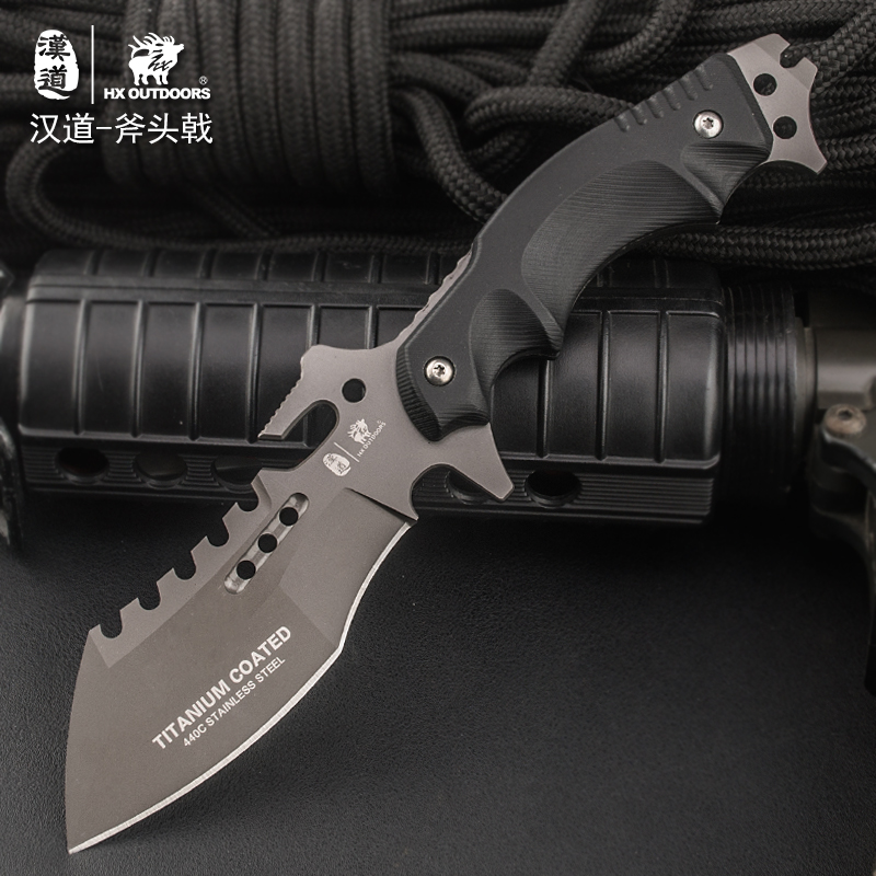 HX OUTDOORS Survival Knife Outdoor Tools High Hardness Straight Knives Camping Rescue Essential Tool for self-defense Favorites цены онлайн