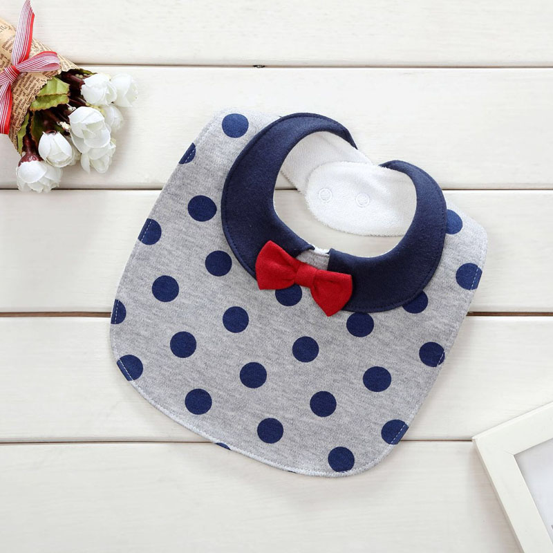 100% Cotton Newborn Baby Bibs Cute Feeding Bib Baby Nursing Bandana Burp Cloth For Girls And Boys Double Side Baby Scarf Bibs