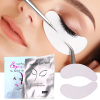 100pairs Lot Disposable Eye Pads Eyelash Extension Patches Under Eye Lint Free Eye Tips Sticker Wraps