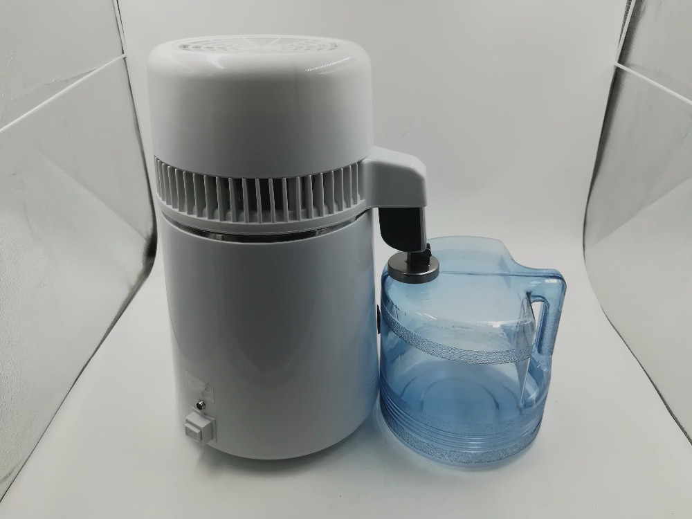 220 V 4L Distillateur D'eau Distillation Purificateur Inoxydable Distillateur D'eau Pure Filtre Machine Distillation Équipement de Purificateur - 2