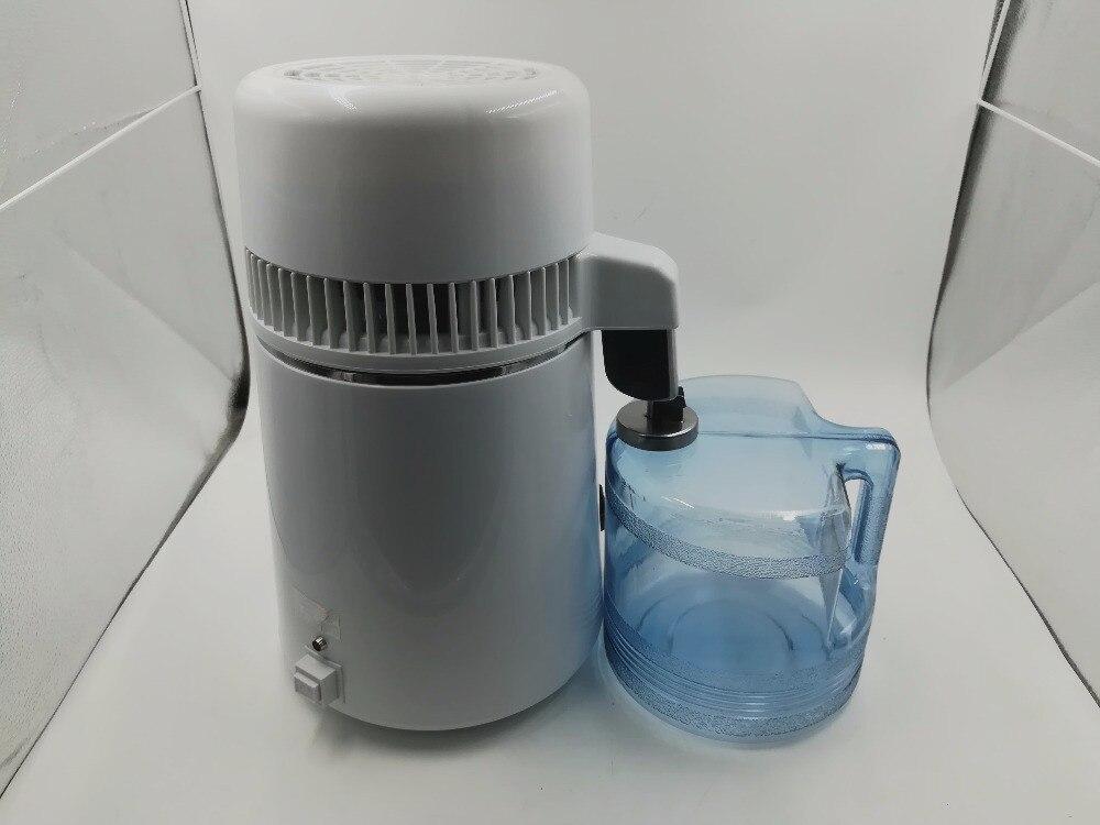 220V 4L Water Distiller Distillation Purifier Stainles Pure Water Distiller Filter Machine Distillation Purifier Equipment - 2