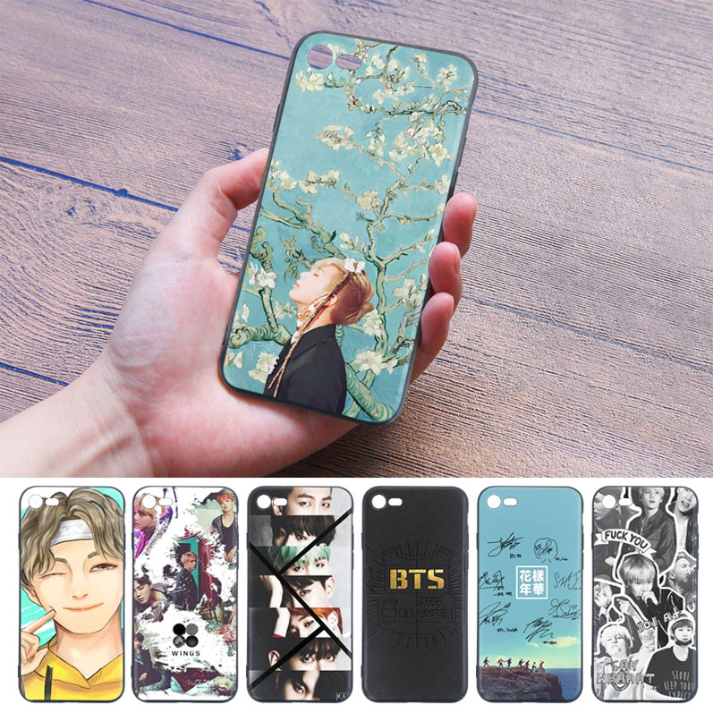 Earnest Babaite For Iphone 8 Covers Cases Bts Tpu Soft Silicone Phone Case Cover For Apple Iphone 7 6 6s Plus X Xs Max 5 5s Se Xr Cover Commodities Are Available Without Restriction Phone Bags & Cases
