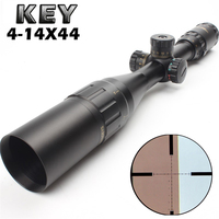 New Aim Optical Sight KEY TMD 4 14X44 Riflescope Outdoor Hunting Optics Sight Scope For airgun airsoft rifle sniper accessories