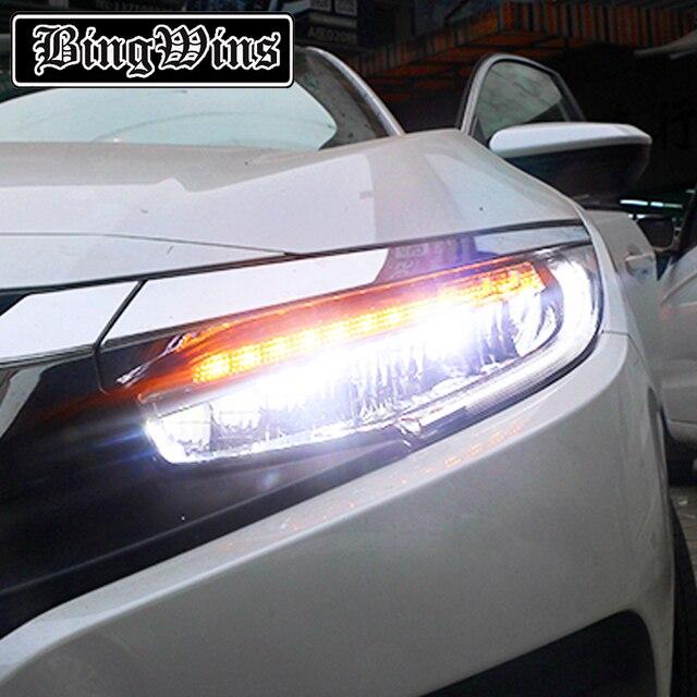 BINGWINS Car styling for Honda Accord 10th Headlights 2016 2017 LED High Beam LED Low Beam & BINGWINS Car styling for Honda Accord 10th Headlights 2016 2017 LED ...