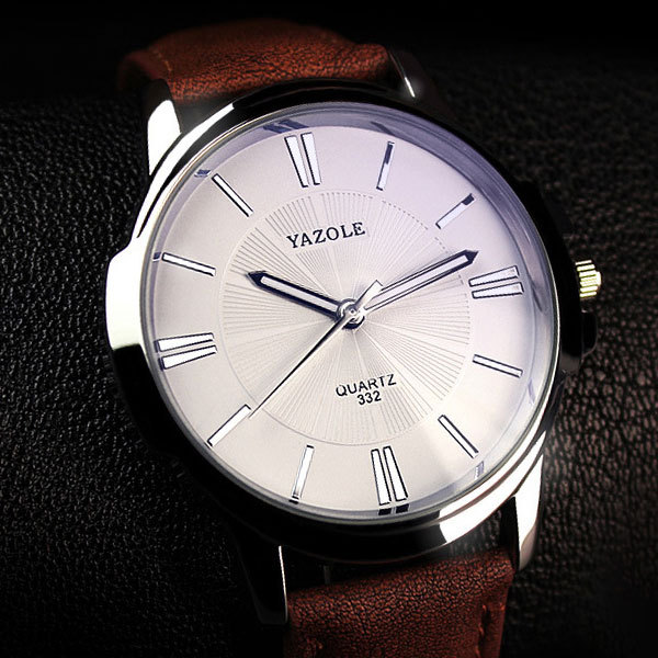 YAZOLE 2018 Fashion Quartz Watch Men Watches Top Brand Luxury Male Clock Business Mens Wrist Watch Hodinky Relogio Masculino 5