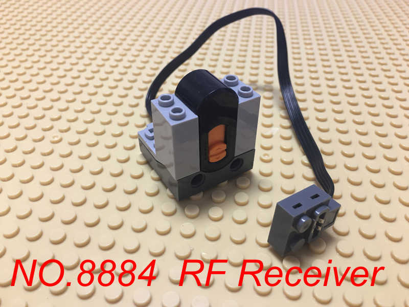 Compatible with Lego Technic Power Functions Building Blocks Motor IR  Receiver Speed Remote Control Rechargeable Battery Box Set