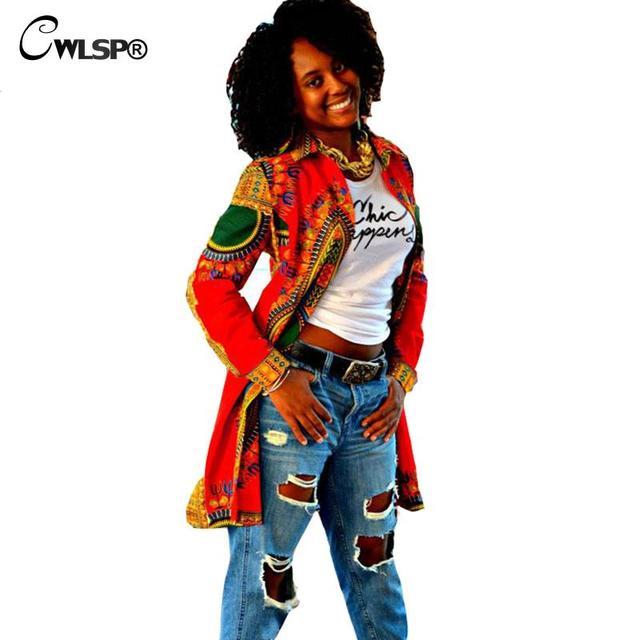 Уличной моды Пальто Для Женщин Весна Осень Национальный Печати Длинную Траншею Линии Открытой Стежка Верхняя Одежда abrigos mujer QL2669