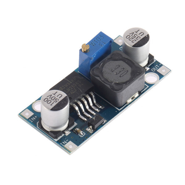 1pc Small LM2596 power supply module DC/DC BUCK 3A adjustable buck module regulator ultra LM2596S 24V switch 12V 5V 3V Newest