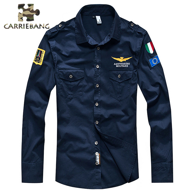 New Men Shirts Military Uniform Us Army Combat Long Sleeve Shirts Cargo Airsoft Paintball Militar Men Tactical Clothing image