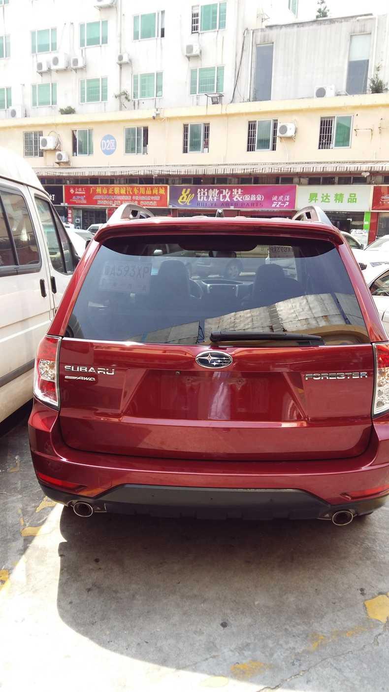 אביזרי רכב ABS פלסטיק לא צבוע פריימר צבע אחורי תא מטען אתחול שפתיים אגף ספוילר לסובארו פורסטר 2008 2009 2010 2011 2012