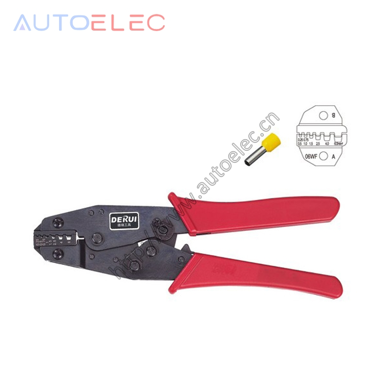 HS-06WF MINI EUROP STYLE crimping tool crimping plier 02.5-6mm2 multi tool tools hands