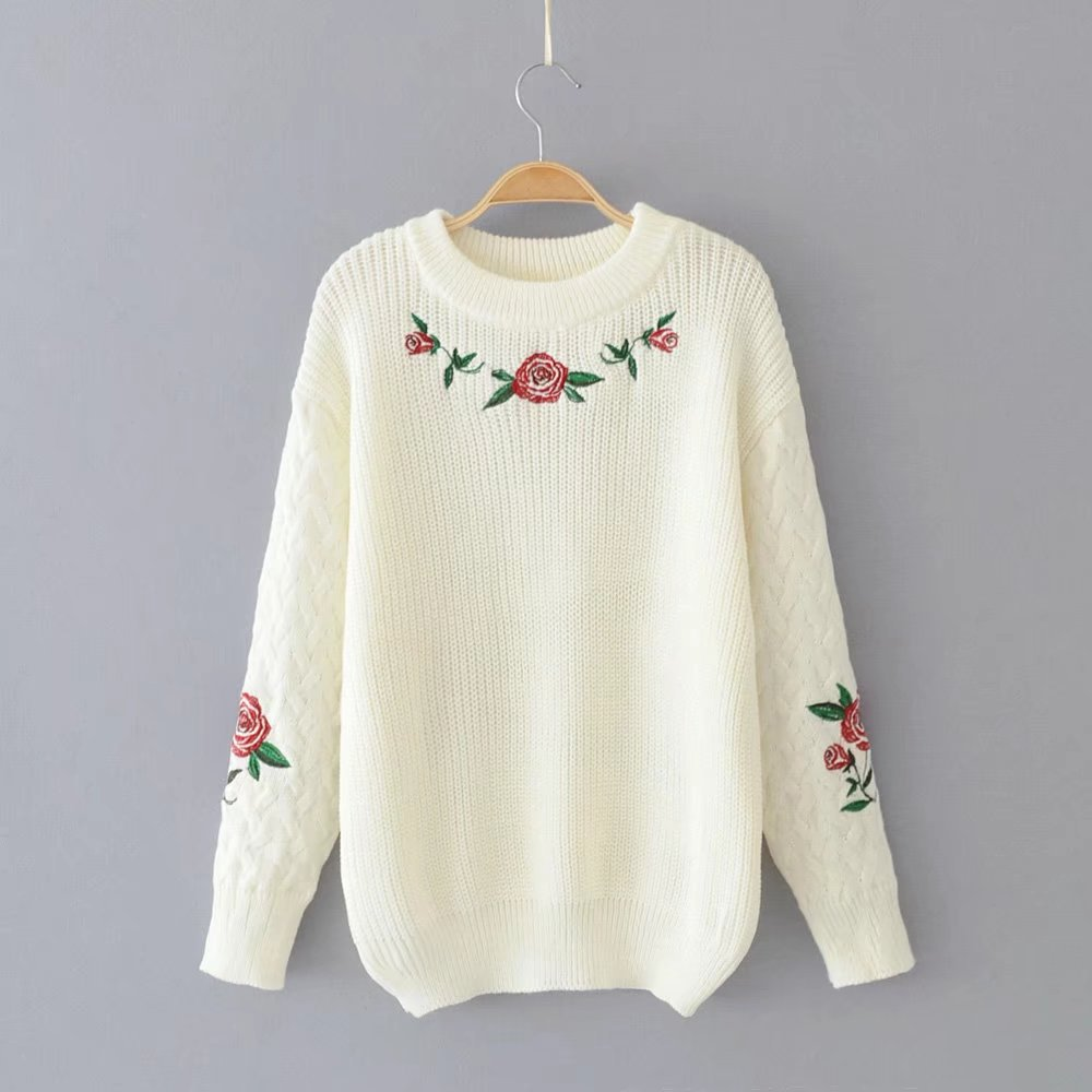 Aliexpress.com : Buy Fashion Casual Loose Knitted Pullover ...
