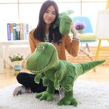 1 pc 40-100 cm nuevo dinosaurio de peluche de juguete de dibujos animados dinosaurio de peluche de juguete para los niños de los niños regalo de Cumpleaños