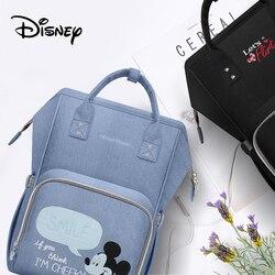 Disney versão atualizada saco de isolamento térmico de alta capacidade de alimentação do bebê sacos de garrafa sacos de fraldas oxford usb sacos de isolamento