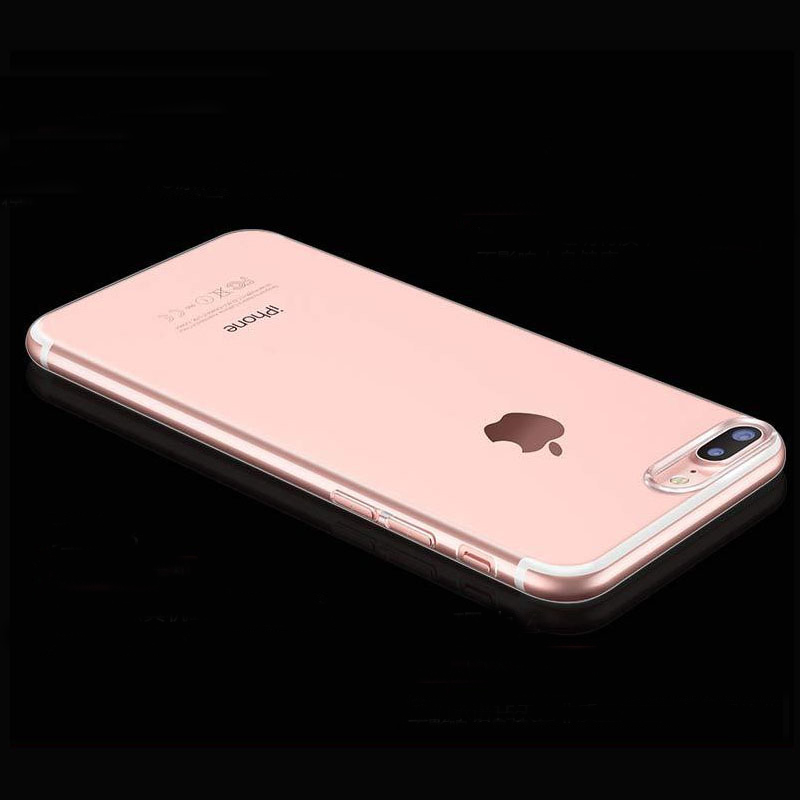 Slim Crystal Clear tas ponsel kasus Untuk iPhone 7 Kasus TISKE - Aksesori dan suku cadang ponsel - Foto 4