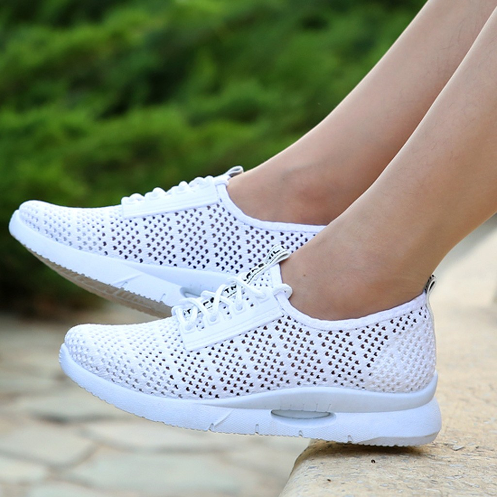 2020 Fashion Breathable Sneakers for Women Summer Mesh Shoes Casual Lightweight Comfortable Shoes Student Running Shoes Feminino